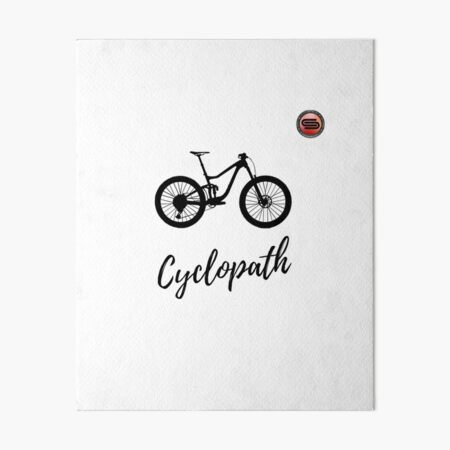 cyclostock - CYCLOPATH Art Board Print