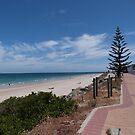 Cooler windy day! Somerton, Adelaide. Sth. Australia. by Rita Blom