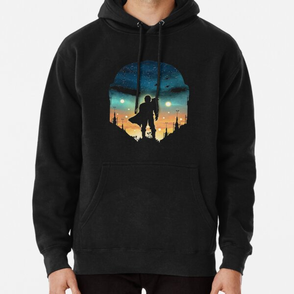 the night duo hunter Pullover Hoodie