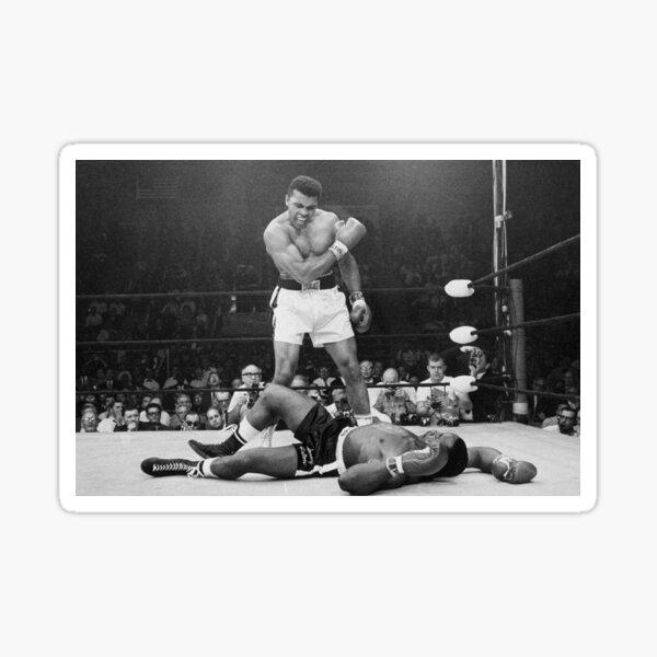 mohamed ali boxing Sticker