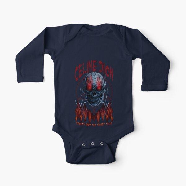 Celine Dion Lustiger Death Metal Baby Body Langarm