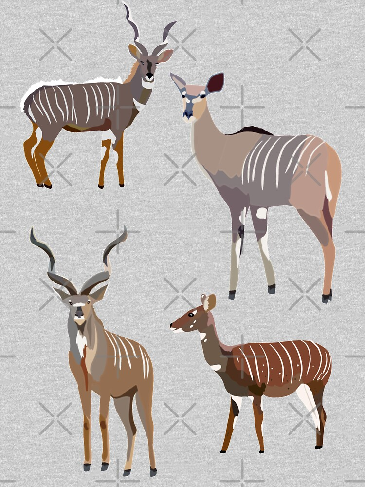 K is for Kudu by thezoogirl