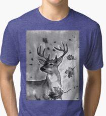 Deer Portrait Tri-blend T-Shirt