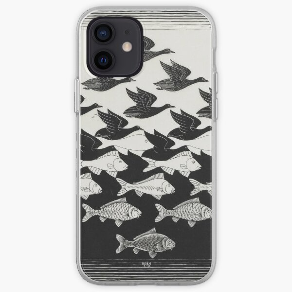 ESCHER Sky and Water I iPhone Soft Case