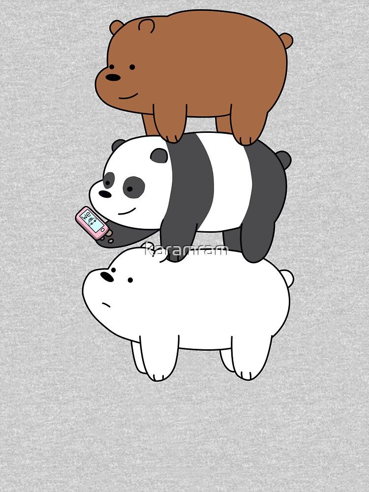 We Bare Bears™ Grizzly, Panda, and Ice bear by karamram