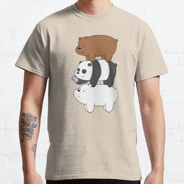 We Bare Bears™ Grizzly, Panda, and Ice bear Classic T-Shirt