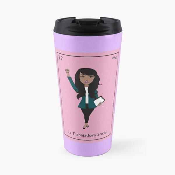La Trabajadora Social Travel Mug