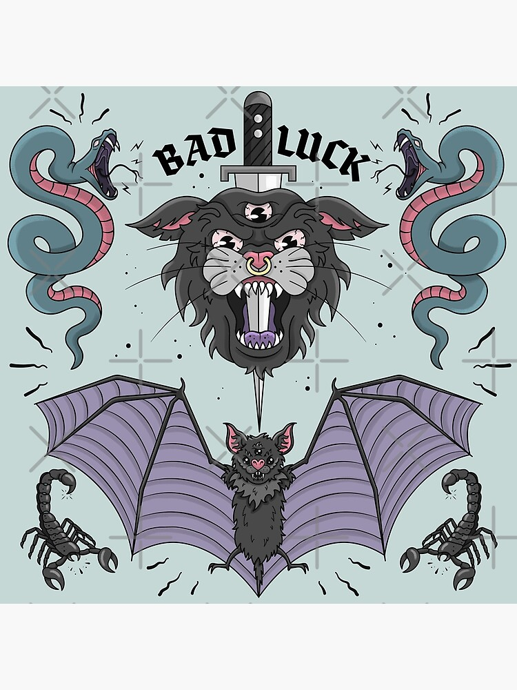BAD LUCK by xxzbat
