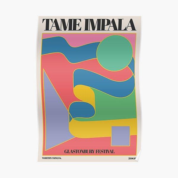 Good and cool glastonbury impala Poster