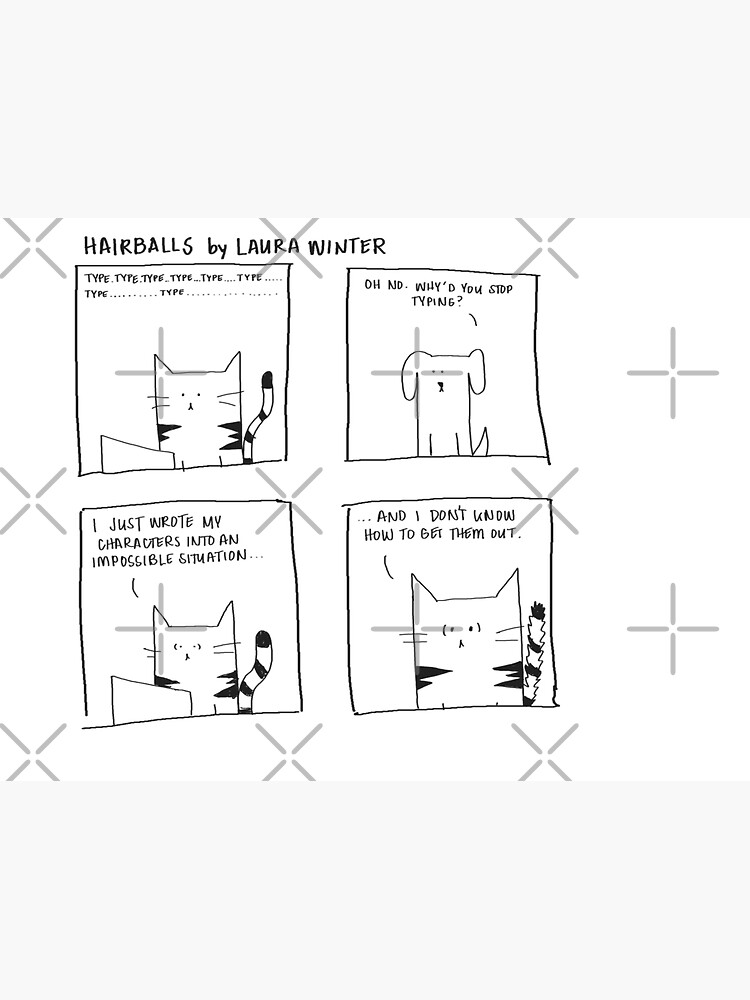 Impossible, Hairballs comic by authorlwinter