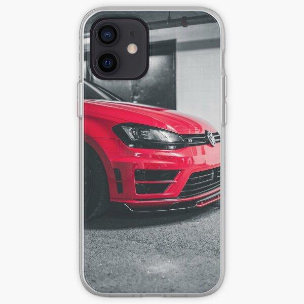 Vag Golf 7 R Funda blanda para iPhone