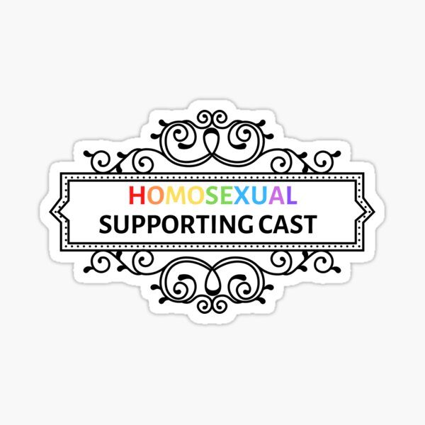 Ouran High School Host Club Homosexual Supporting Cast Sticker