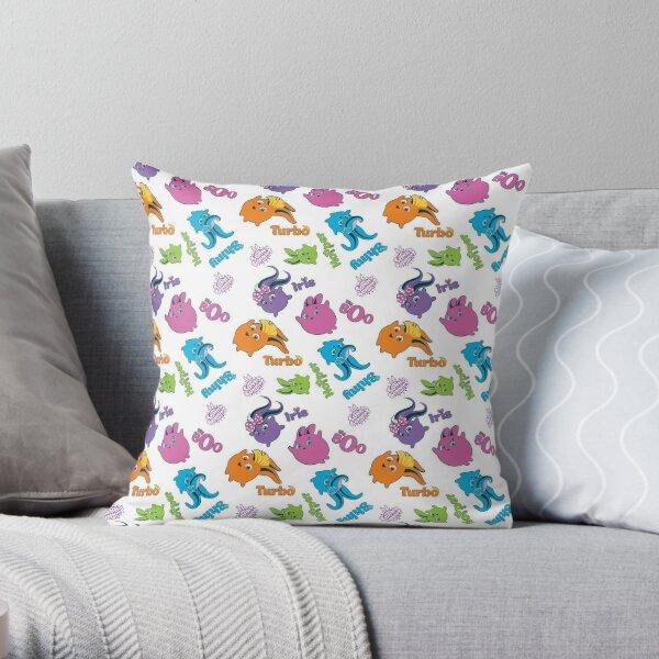 Sunny Bunnies - Pattern # 1 Throw Pillow