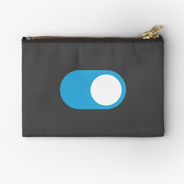 Dark Mode Switch On Zipper Pouch