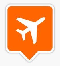 Travel notification Sticker