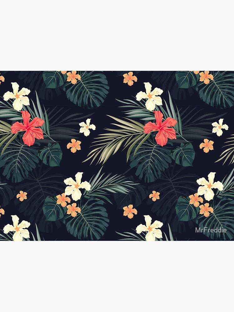 Dark tropical flowers by MrFreddie