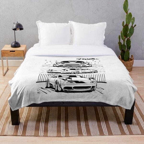 Mazda Miata Throw Blanket