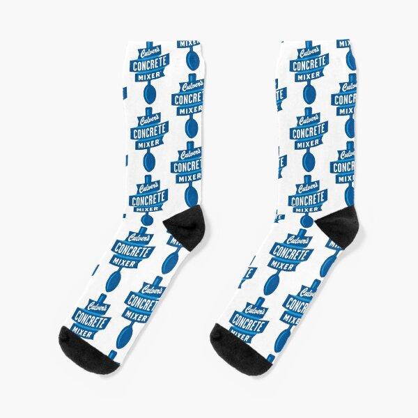 Culver's Concrete Mixer Logo Socks
