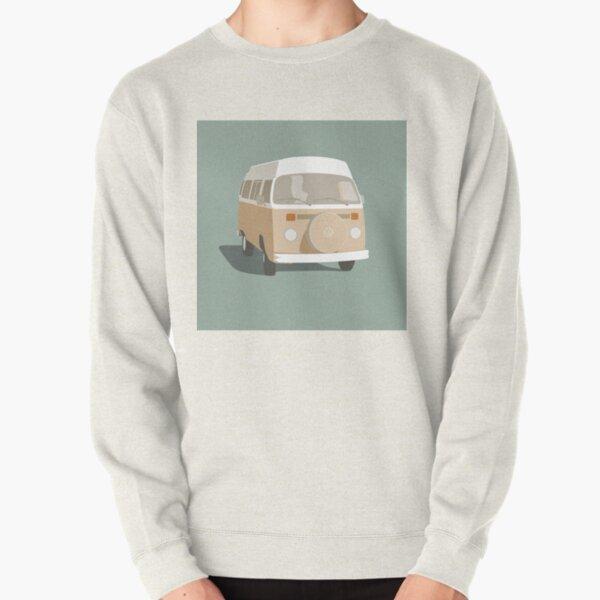 Campervan Beige Pullover Sweatshirt
