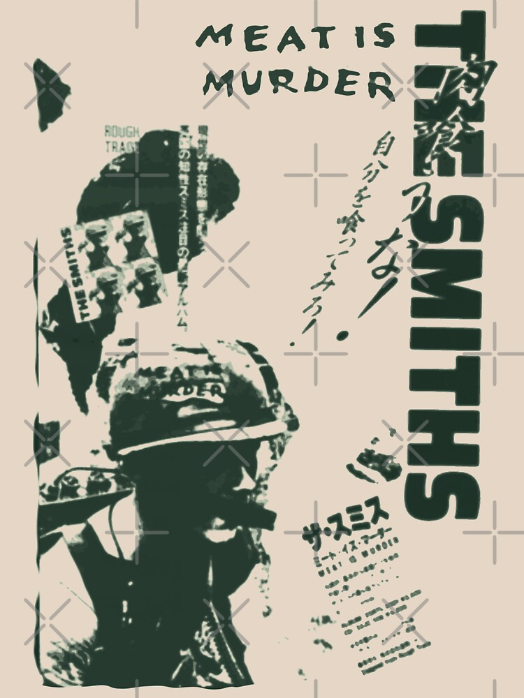 The Smiths - Meat is Murder (Japanese) (green variant) by ClemCatCreation