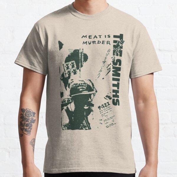 The Smiths - Meat is Murder (japonés) (variante verde) Camiseta clásica