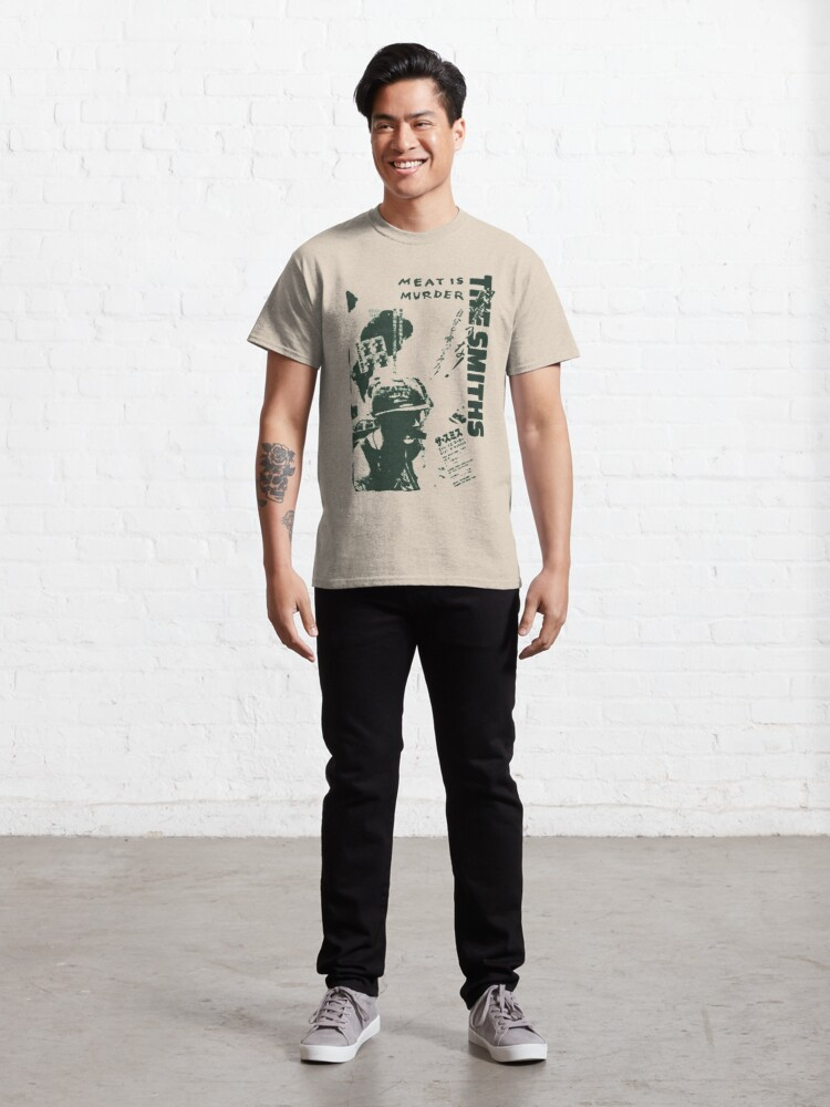 Alternate view of The Smiths - Meat is Murder (Japanese) (green variant) Classic T-Shirt