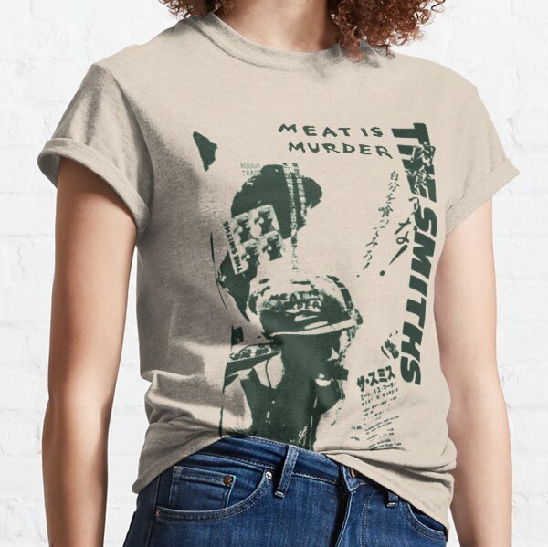 The Smiths - Meat is Murder (Japanese) (green variant) Classic T-Shirt