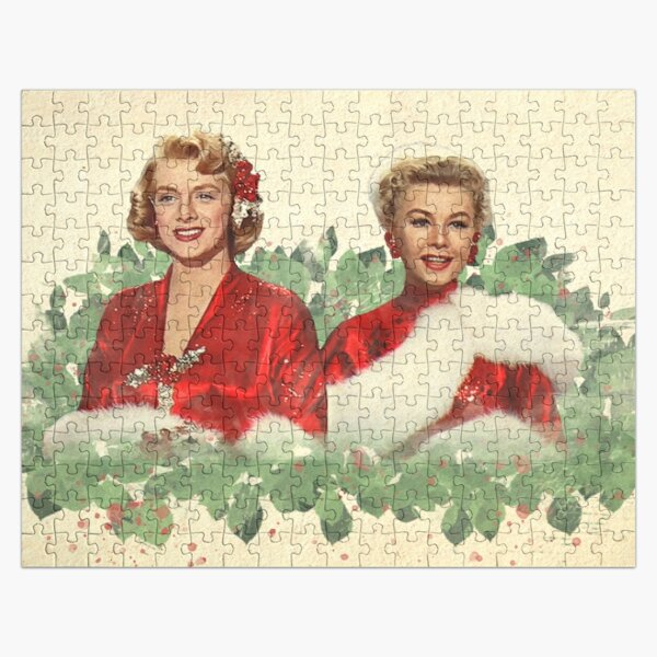 Sisters - A Merry White Christmas Jigsaw Puzzle