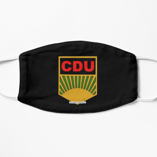 CDU   Satire, Protest, BRD Flache Maske