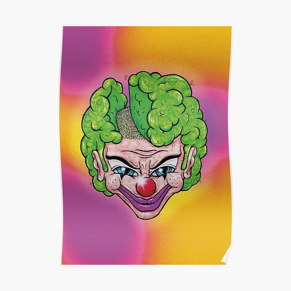 Maniac Clown Poster