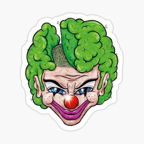 Maniac Clown Sticker