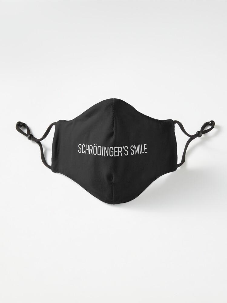 Alternate view of schrödinger's smile - v1 Mask