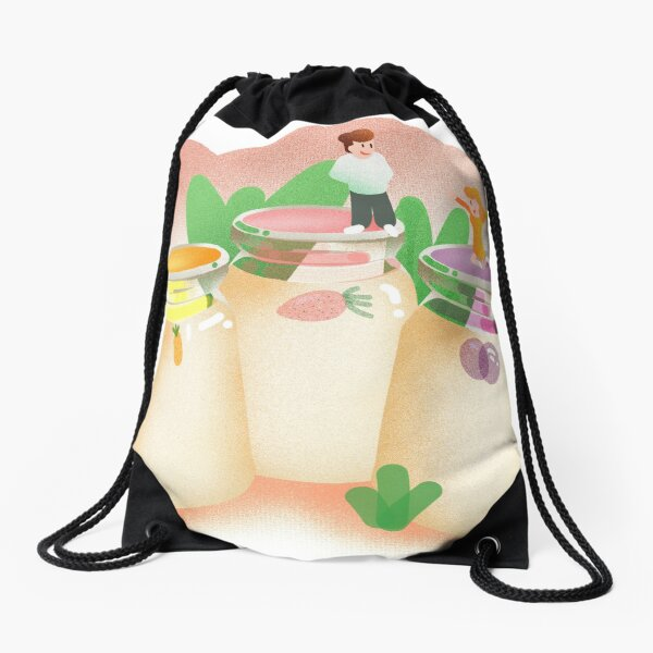 STAMEN GRIGOROV YOGURT T-SHIRT Drawstring Bag
