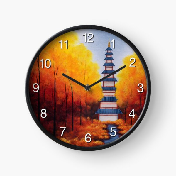 Bellchime Trail Clock