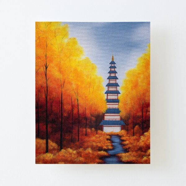 Bellchime Trail Canvas Mounted Print