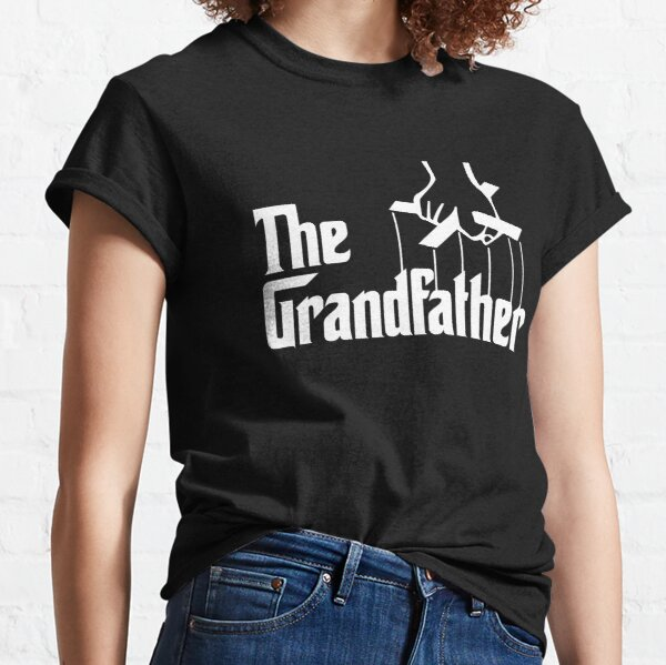 The Grandfather in The Godfather style Classic T-Shirt