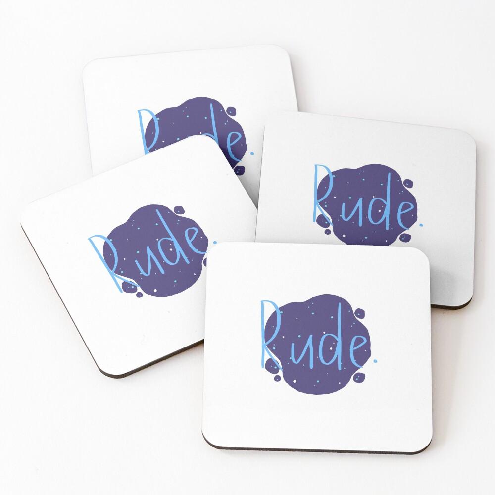 Rude - Finnley Coasters (Set of 4)
