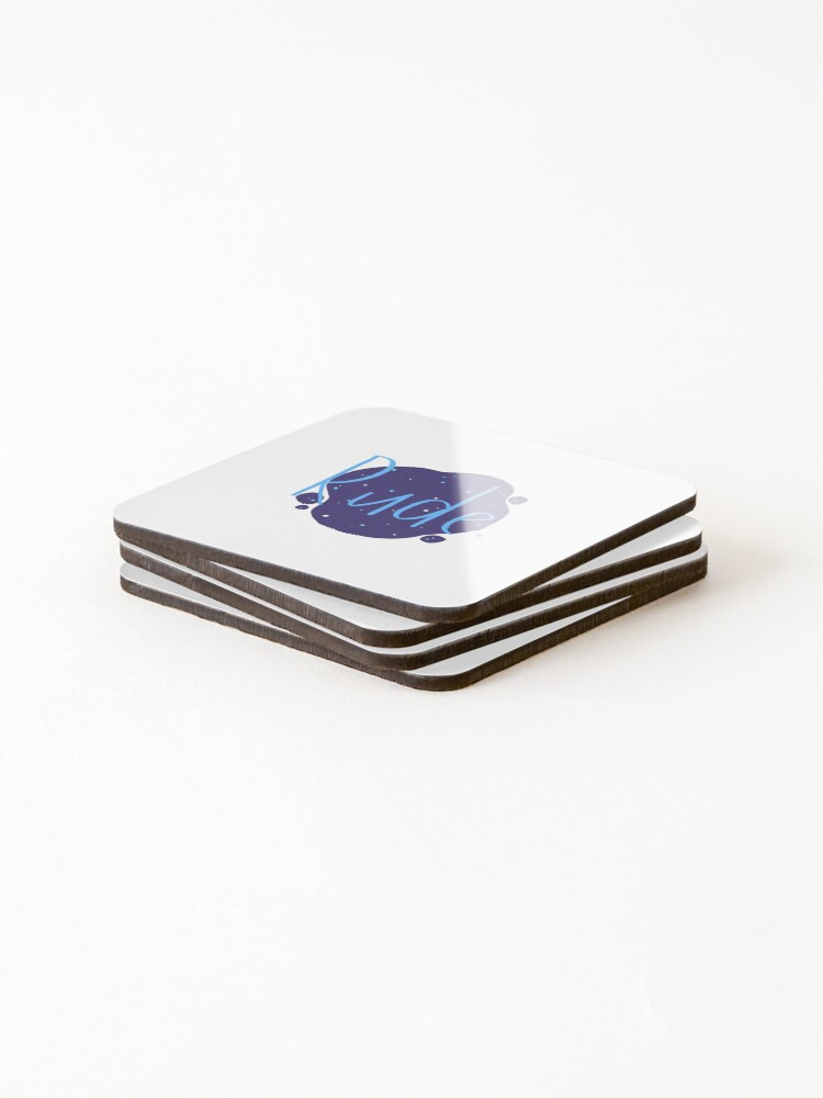 Alternate view of Rude - Finnley Coasters (Set of 4)