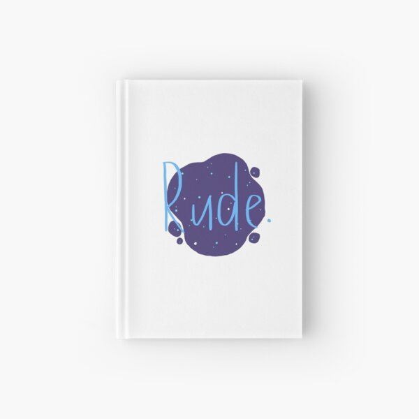 Rude - Finnley Hardcover Journal
