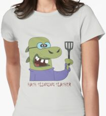 The Hash Slinging Slasher Women's Fitted T-Shirt