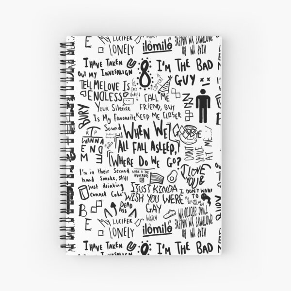 Billie Eilish Cuaderno de espiral