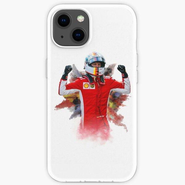 Sebastian Vettel Formel 1 Fahrer iPhone Flexible Hülle
