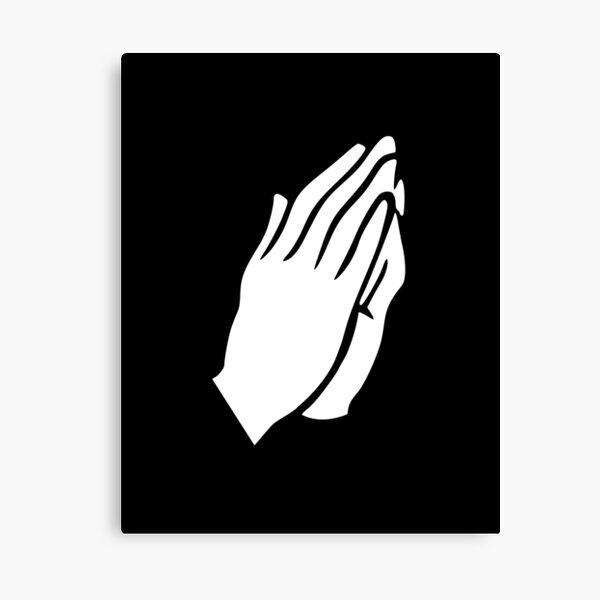 Manos de oración Lienzo