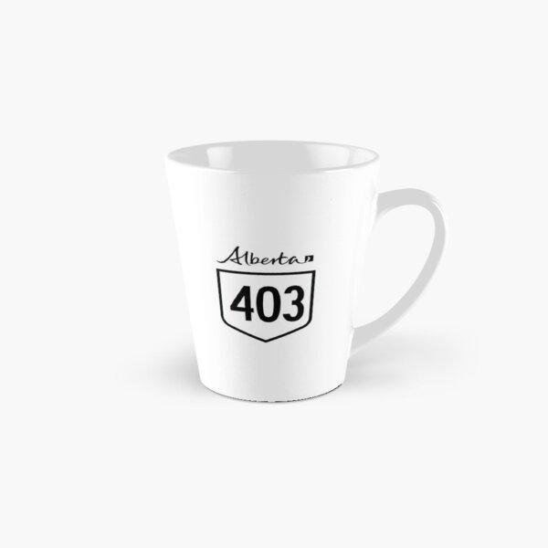 Alberta Provincial Highway 403 (Area Code 403) Tall Mug