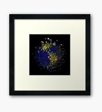 This Scattered Earth Framed Print
