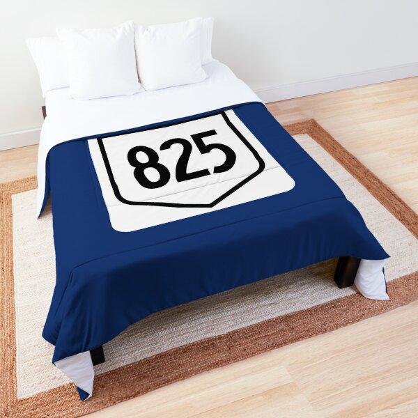 Alberta Provincial Highway 825 (Area Code 825) Comforter
