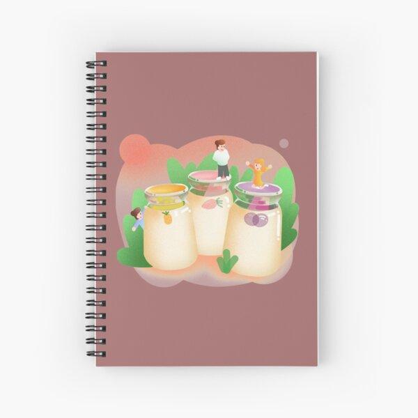 STAMEN GRIGOROV YOGURT T-SHIRT Spiral Notebook