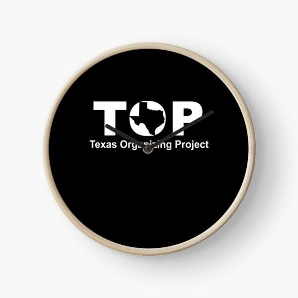 Top Texas Organizing Project Clock