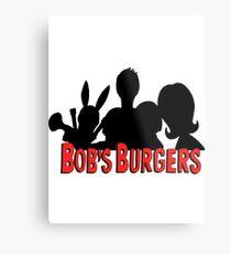 The Belcher Family // Bobs Burgers Metal Print
