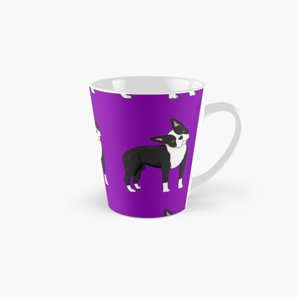 Adorable Boston Terrier Mug long